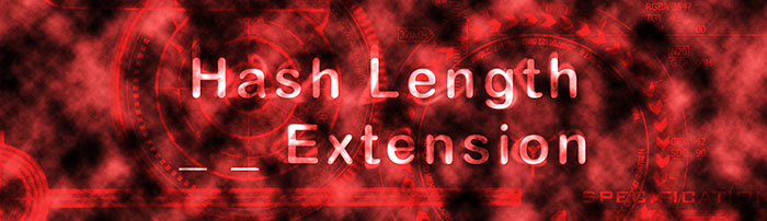 Hash length extension